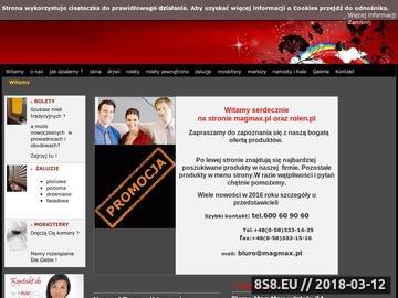 Zrzut strony Rolety Gdańsk