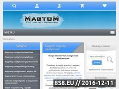 Miniaturka www.magnesywawa.pl (Magtom - magnesy neodymowe - hurtownia zabawek magnetycznych)
