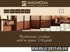 Miniaturka domeny www.magnoliameble.pl