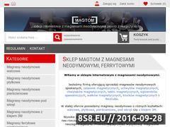 Miniaturka domeny www.magtom.pl