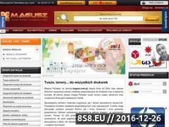 Miniaturka domeny www.magusz.com.pl