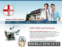 Miniaturka domeny mak-med.pl