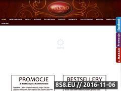 Miniaturka domeny makao-salon.pl
