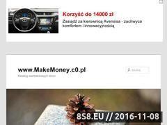 Miniaturka domeny makemoney.c0.pl