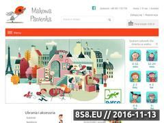 Miniaturka makowapanienka.com (Zabawki oraz ubrania dla dzieci)