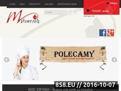 Miniaturka Sklep ze zdrową żywnością i biokawiarnią (makowe-pola.pl)