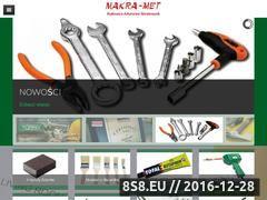 Miniaturka domeny makra-met.com.pl
