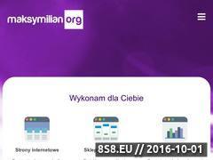 Miniaturka Tworzenie i pozycjonowanie stron internetowych (maksymilian.org)