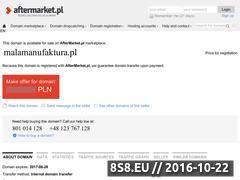 Miniaturka domeny www.malamanufaktura.pl
