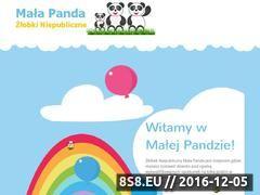 Miniaturka domeny www.malapanda.pl