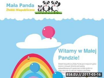 Zrzut strony Mała Panda - żłobek, przedszkole
