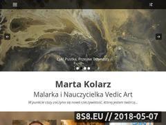Miniaturka malarstwointuicyjne.pl (Warsztaty i kursy Vedic Art)
