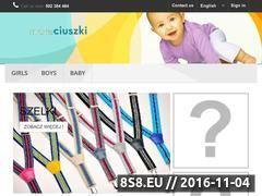 Miniaturka domeny maleciuszki.com.pl