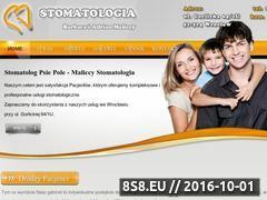 Miniaturka domeny www.maliccy-stomatologia.pl