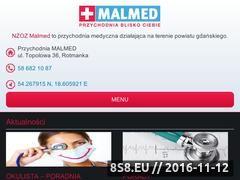 Miniaturka domeny malmed.eu