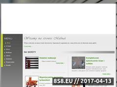 Miniaturka domeny www.malnat.pl