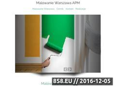 Miniaturka domeny malowaniewarszawa.com.pl