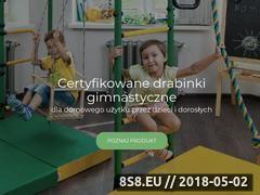 Miniaturka malpiszon.pl (Drabinki gimnastyczne - sklep internetowy)