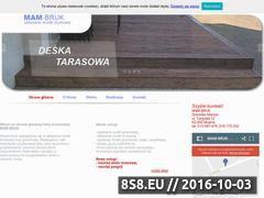 Miniaturka domeny www.mam-bruk.pl