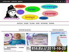 Miniaturka mama-asialm.pl (Blog parentingowy - recenzje książek dla dzieci)