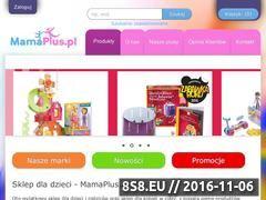Miniaturka domeny mamaplus.pl