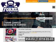 Miniaturka domeny mamforme.pl