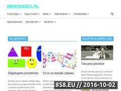 Miniaturka domeny www.mamydzieci.pl