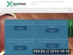 Miniaturka domeny www.manager.projektgamma.pl