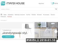 Miniaturka domeny mandihouse.pl