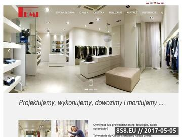 Zrzut strony Manequeen - manekiny - producent manekinów Łódź