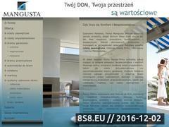 Miniaturka domeny www.mangusta-serwis.pl