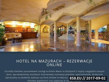 Zrzut strony Manor Hotel-restauracje