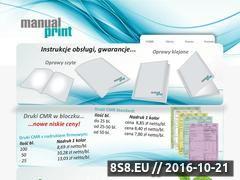 Miniaturka domeny www.manualprint.pl