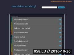 Miniaturka domeny manufaktura-mebli.pl