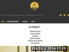 Miniaturka domeny www.manufakturawnetrz.pl