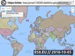 Miniaturka mapa-swiata.pl (Baza obiektów geograficznych)