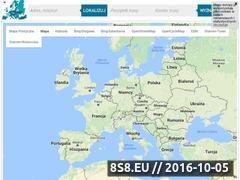 Miniaturka mapy-europy.pl (Internetowa mapa Europy)