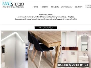 Zrzut strony Architekt Gdynia