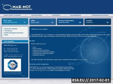 Zrzut strony MAR-MOT Sp. z o.o. - Pierścienie tłokowe
