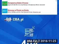 Miniaturka domeny marcin648.cba.pl