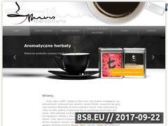 Miniaturka marcocaffe.pl (Kawa ziarnista, herbata i ekspresy do kawy)