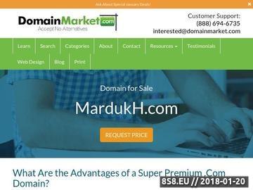 Zrzut strony Mardukh