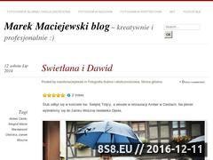 Miniaturka domeny marekmaciejewski.wordpress.com