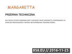 Miniaturka domeny margaretta.sklep.pl
