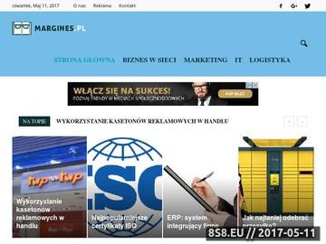 Zrzut strony Księgarnia naukowo-techniczna margines.pl