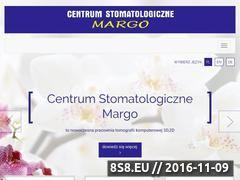 Miniaturka domeny www.margo-stomatologia.pl