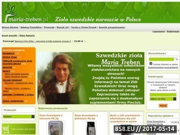 Zrzut strony Zioła Szwedzkie wg. receptury Marii Treben
