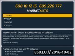 Miniaturka market-auto.pl (Skup aut używanych na terenie m. Wrocławia)