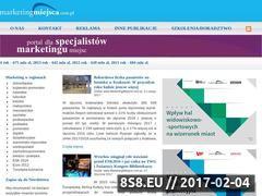 Miniaturka domeny www.marketingmiejsca.com.pl