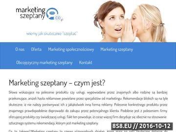 Zrzut strony Marketing szeptany, marketing spolecznosciowy